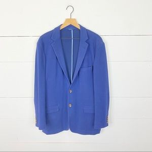 Brooks Brothers Suits & Blazers - Brooks Brothers Knit Cotton Blazer Size 46R